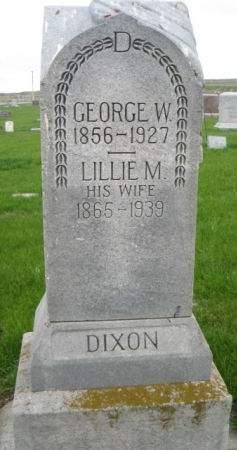 DIXON, LILLIE M. - Mills County, Iowa | LILLIE M. DIXON