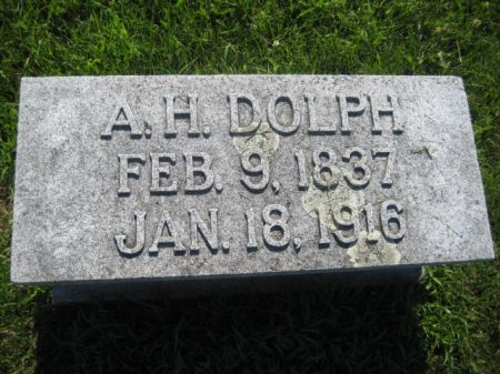DOLPH, A. H. - Mills County, Iowa   A. H. DOLPH