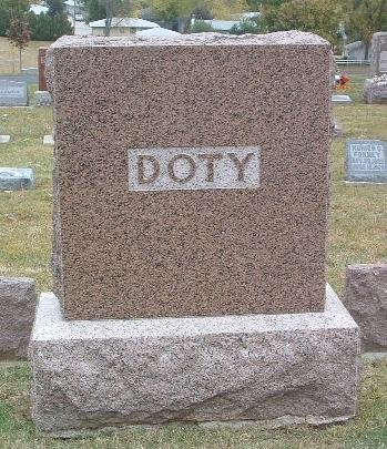 DOTY, FAMILY HEADSTONE - Mills County, Iowa | FAMILY HEADSTONE DOTY