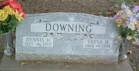 DOWNING, DENNIS H. - Mills County, Iowa | DENNIS H. DOWNING