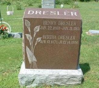 DRESLER, HENRY - Mills County, Iowa | HENRY DRESLER