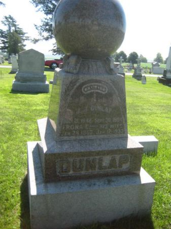 DUNLAP, J. J. - Mills County, Iowa | J. J. DUNLAP