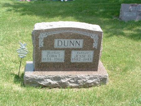 DUNN, CORA I. - Mills County, Iowa | CORA I. DUNN