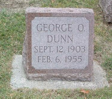 DUNN, GEORGE O. - Mills County, Iowa | GEORGE O. DUNN