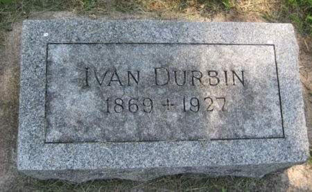 DURBIN, IVAN - Mills County, Iowa   IVAN DURBIN