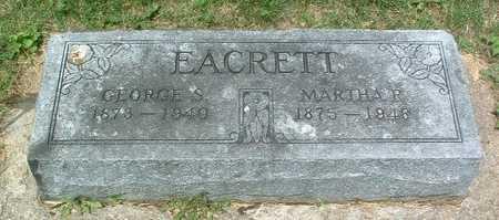 EACRETT, MARTHA R. - Mills County, Iowa | MARTHA R. EACRETT