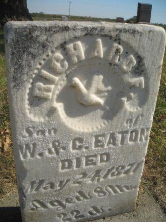 EATON, RICHARD F. - Mills County, Iowa   RICHARD F. EATON
