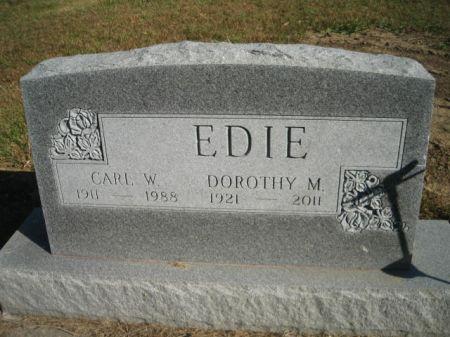 EDIE, DOROTHY M. - Mills County, Iowa | DOROTHY M. EDIE