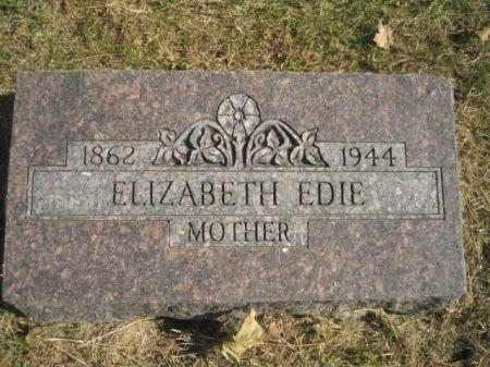 CARY EDIE, ELIZABETH - Mills County, Iowa | ELIZABETH CARY EDIE