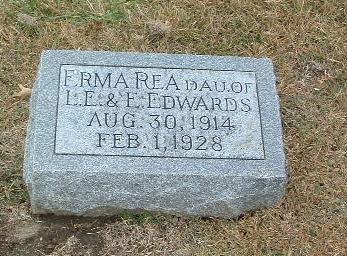EDWARDS, ERMA RAE - Mills County, Iowa   ERMA RAE EDWARDS