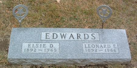 EDWARDS, LEONARD E. - Mills County, Iowa | LEONARD E. EDWARDS