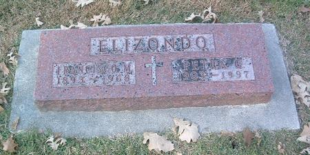 ELIZONDO, FRANCISCO M. - Mills County, Iowa | FRANCISCO M. ELIZONDO