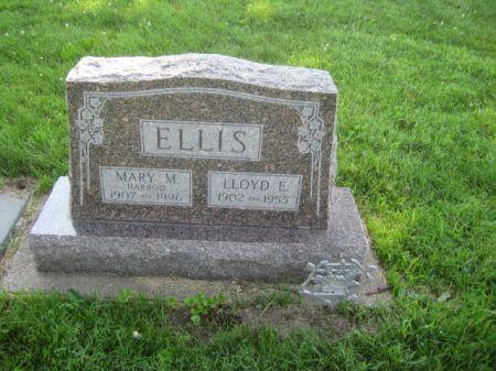 HARROD ELLIS, MARY M - Mills County, Iowa   MARY M HARROD ELLIS