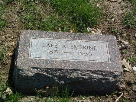 EMERINE, LAFE A. - Mills County, Iowa | LAFE A. EMERINE