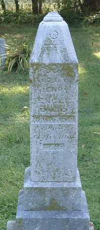 ENGLE, HENRY - Mills County, Iowa   HENRY ENGLE