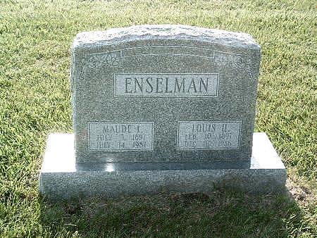 ENSELMAN, LOUIS H. - Mills County, Iowa | LOUIS H. ENSELMAN