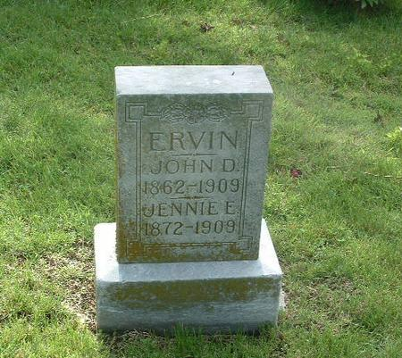 ERVIN, JOHN D. - Mills County, Iowa | JOHN D. ERVIN