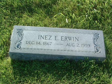ERWIN, INEZ E. - Mills County, Iowa   INEZ E. ERWIN