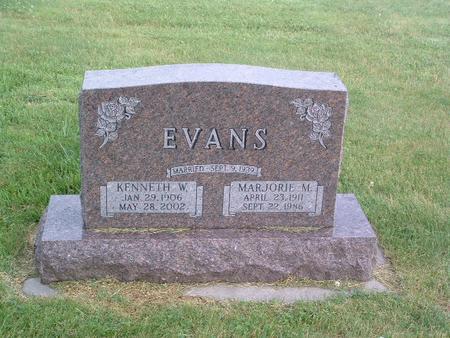 EVANS, MARJORIE M. - Mills County, Iowa | MARJORIE M. EVANS