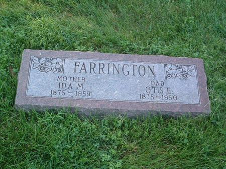 FARRINGTON, OTIS E. - Mills County, Iowa | OTIS E. FARRINGTON
