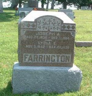 FARRINGTON, LYDIA E. - Mills County, Iowa | LYDIA E. FARRINGTON