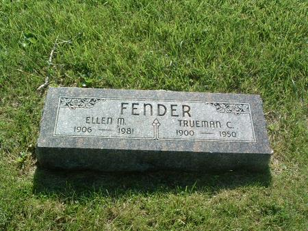 FENDER, TRUEMAN C. - Mills County, Iowa | TRUEMAN C. FENDER