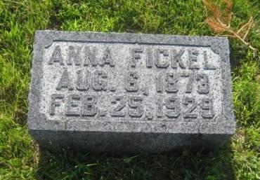 FICKEL, ANNA - Mills County, Iowa | ANNA FICKEL
