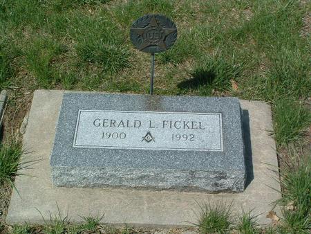 FICKEL, GERALD - Mills County, Iowa | GERALD FICKEL