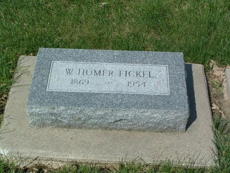 FICKEL, W. HOMER - Mills County, Iowa | W. HOMER FICKEL