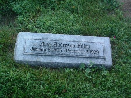 FILLEY, ALZO ANDERSON - Mills County, Iowa | ALZO ANDERSON FILLEY