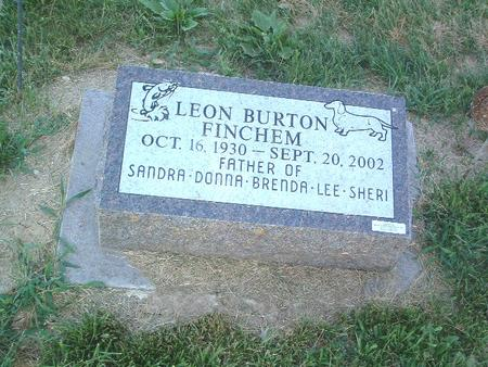 FINCHEM, LEON BURTON - Mills County, Iowa | LEON BURTON FINCHEM