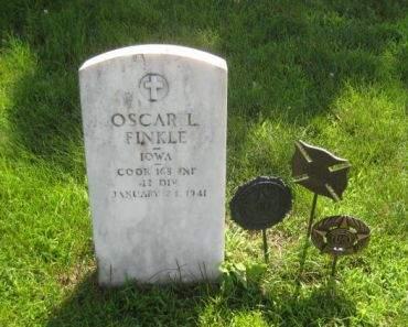 FINKLE, OSCAR L. - Mills County, Iowa | OSCAR L. FINKLE