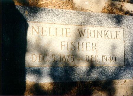 FISHER, NELLIE - Mills County, Iowa | NELLIE FISHER