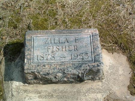 FISHER, ZILLA E. - Mills County, Iowa   ZILLA E. FISHER