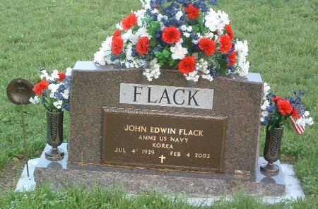 FLACK, JOHN EDWIN - Mills County, Iowa   JOHN EDWIN FLACK