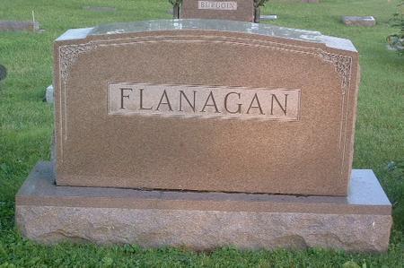 FLANAGAN, FAMILY HEADSTONE - Mills County, Iowa | FAMILY HEADSTONE FLANAGAN