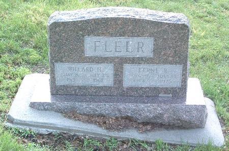 FLEER, WILLARD H. - Mills County, Iowa | WILLARD H. FLEER