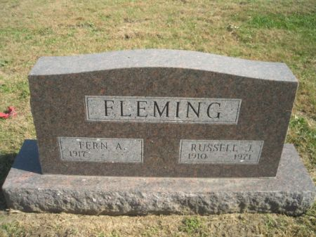 FLEMING, RUSSELL J. - Mills County, Iowa   RUSSELL J. FLEMING
