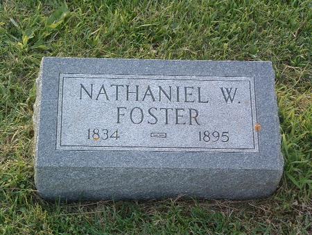 FOSTER, NATHANIEL W. - Mills County, Iowa | NATHANIEL W. FOSTER