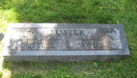 FOSTER, AUGUSTUS W. - Mills County, Iowa   AUGUSTUS W. FOSTER