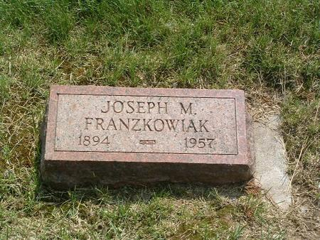 FRANZKOWIAK, JOSEPH M. - Mills County, Iowa   JOSEPH M. FRANZKOWIAK
