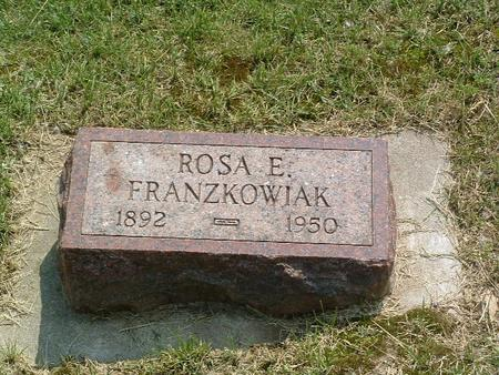FRANZKOWIAK, ROSA E. - Mills County, Iowa | ROSA E. FRANZKOWIAK