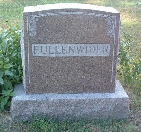FULLENWIDER, FAMILY HEADSTONE - Mills County, Iowa | FAMILY HEADSTONE FULLENWIDER