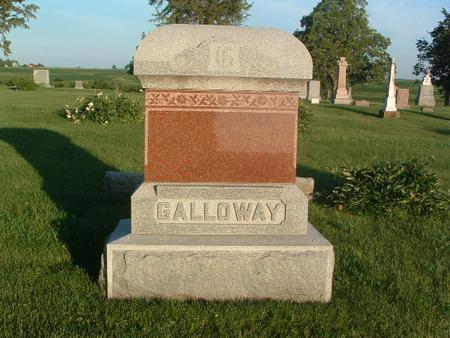 GALLOWAY, FAMILY HEADSTONE - Mills County, Iowa | FAMILY HEADSTONE GALLOWAY