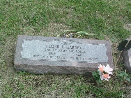 GARRETT, ELMER E. - Mills County, Iowa | ELMER E. GARRETT