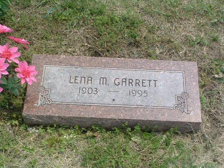 GARRETT, LENA M. - Mills County, Iowa   LENA M. GARRETT