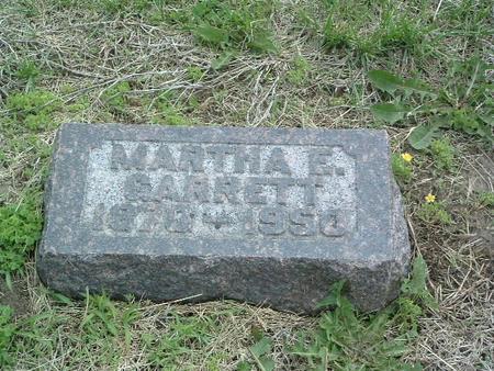 GARRETT, MARTHA E. - Mills County, Iowa | MARTHA E. GARRETT