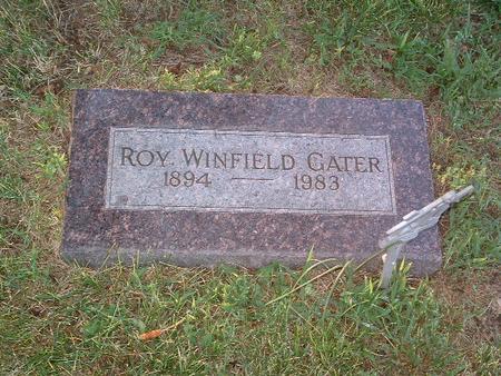 GATER, ROY WINFIELD - Mills County, Iowa | ROY WINFIELD GATER