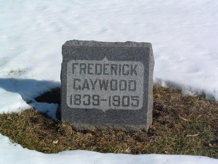 GAYWOOD, FREDERICK - Mills County, Iowa | FREDERICK GAYWOOD