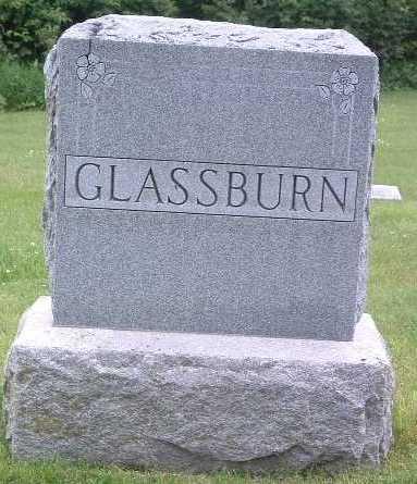 GLASSBURN, FAMILY HEADSTONE - Mills County, Iowa | FAMILY HEADSTONE GLASSBURN